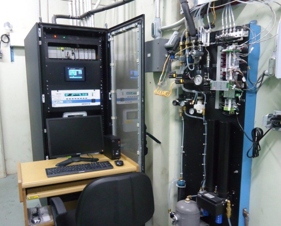 Sistemas de analizadores de gases