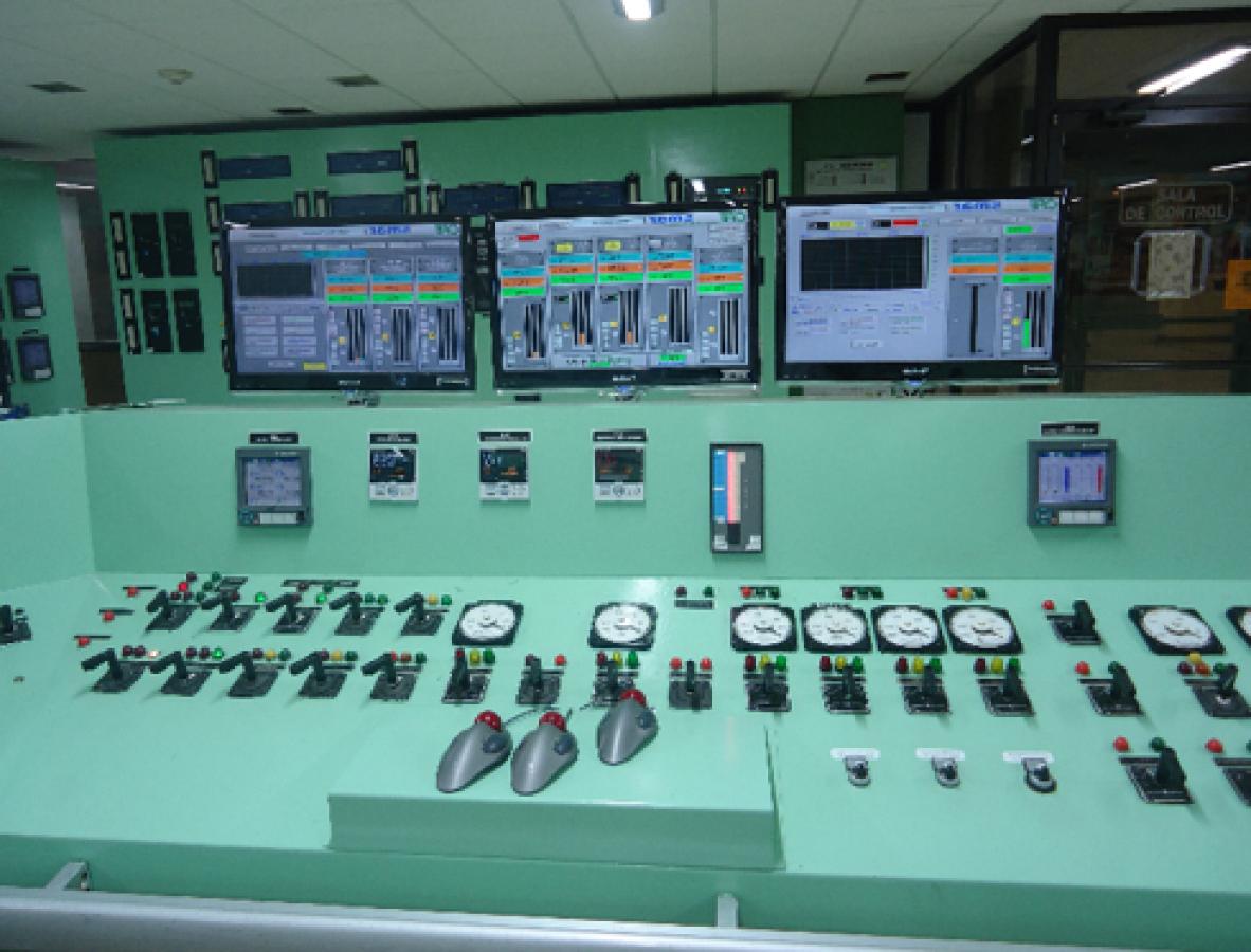 cuartos de control automáticos