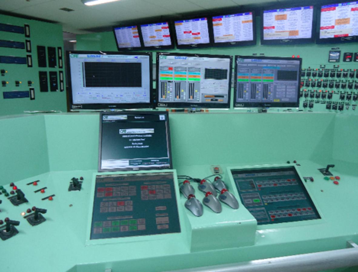 cuartos de control automáticos y autónomos