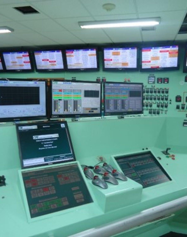 cuartos de control automáticos y autónomos con HMI